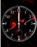 themes clock red red black clock nth theme free download dertz