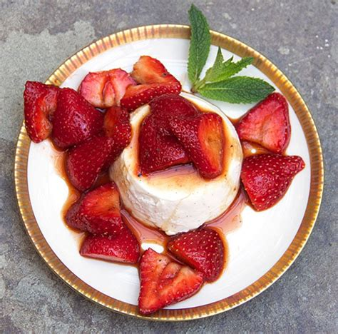 panna cotta with balsamic strawberries recipe ina garten panna cotta going my wayz
