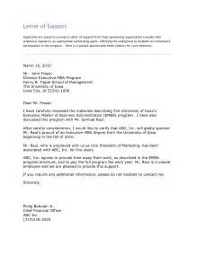 recommendation letter for mba admission from employer