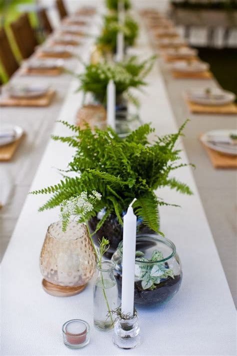 Fern Decor | 22 fab fern inspired wedding decor ideas brit co