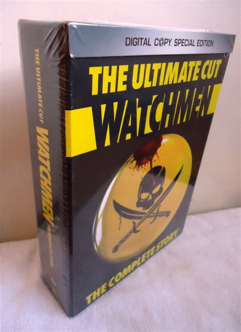 Watchmen The Ultimate Cut Dvd watchmen ultimate cut vostfr