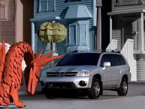 Origami Commercial - mitsubishi endeavor origami commercial