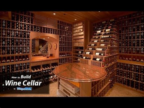 how to build a wine cellar under the stairs woodworking projects plans whisperkool how to build a wine cellar youtube