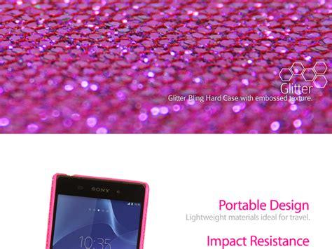Casing Mei Lunatik Xperia Z2 Hardcase Back Cover Aluminium Bumper sony xperia z2 glitter plactic