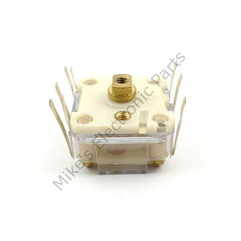 electronically variable capacitor plastic variable capacitor dual section 266pf mike s electronic parts