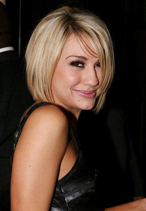cute layered short blonde bob hairstyle with bangs cute short blonde bob haircut with bangs popular bob