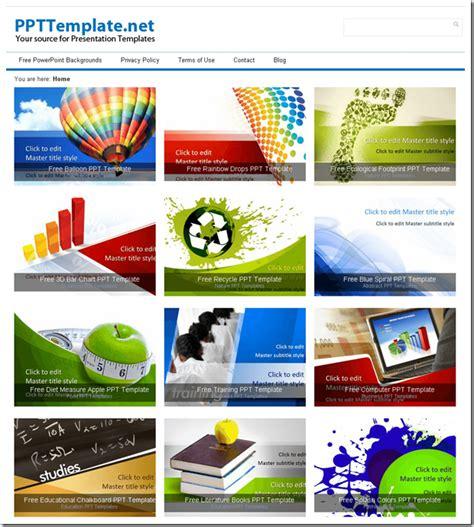 Template Presentasi Powerpoint 5 Website Penyedia Template Presentasi Powerpoint Gratis Terbaik Presentasi Net