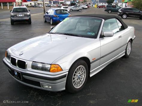 1998 Bmw 328i Convertible by 1998 Arctic Silver Metallic Bmw 3 Series 328i Convertible