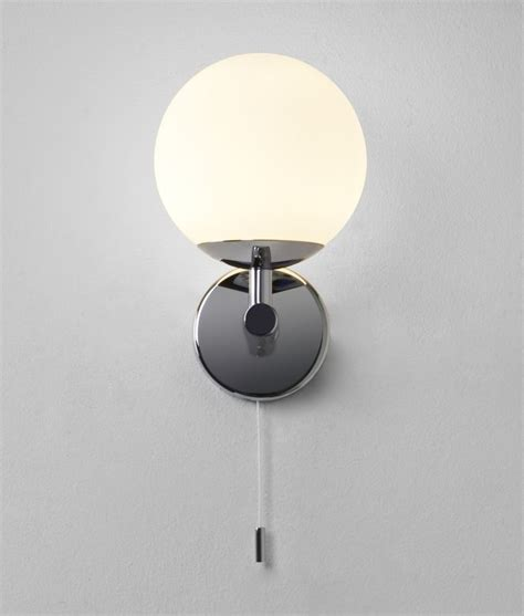 Bathroom Light Globes Glass Globe Bathroom Wall Light