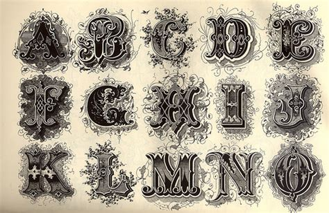 decorative alphabet flickr photo