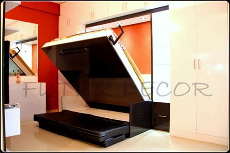 Bed In Wardrobe by Wall Bed Wardrobe Wallbed Invisible Bed Koramangala Bengaluru Futur Decor Solutions Pvt