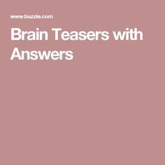 brain teasers with answers buzzle 1000 ideas about brain teasers with answers on pinterest