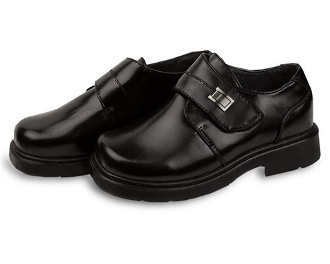 boys black formal dress shoes toddler baby school