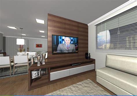 Americana Home Decor by Estante Sala Tv Naturally Moveis Planejados