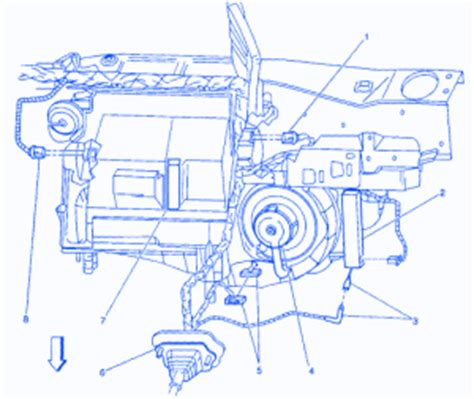 pontiac grand prix   blower relay electrical circuit wiring diagram carfusebox