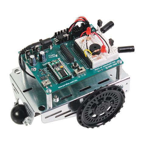 Usb Robot parallex boe bot robot kit usb klinger educational products