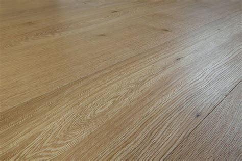 Natural Oak Flooring, Made in Italy: engineered wide plank