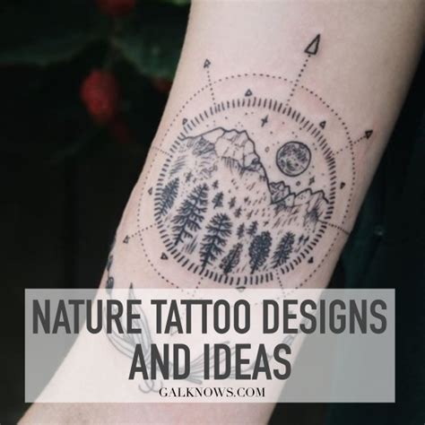 tattoos nature designs 101 perfectly nature tattoos designs and ideas