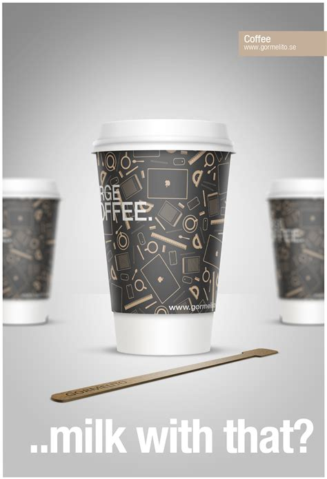 coffee milk design tutorial create a stylish coffee cup with smart objects