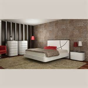 chambre contemporaine laque bicolore