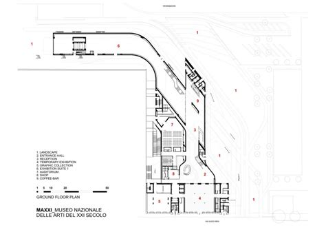 zaha hadid floor plans architecture photography ground floor plan 43851