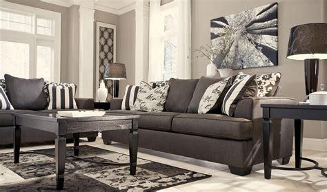 ashley levon sofa reviews levon charcoal stationary sofa from ashley 7340338
