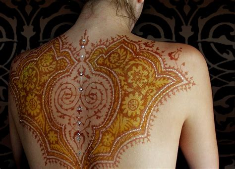 henna tattoo on back henna images designs