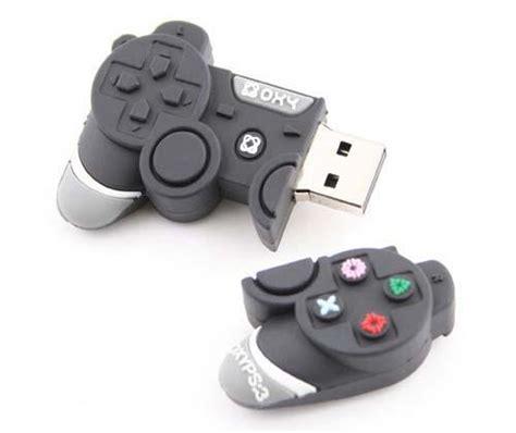 Usb Stik Ps3 Ps3 Controller Inspired Usb Flash Drive Gadgetsin