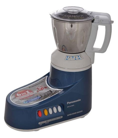 Mixer Grinder Panasonic panasonic mx ac300s blue 550 w 3 jar mixer grinder available at snapdeal for rs 4432