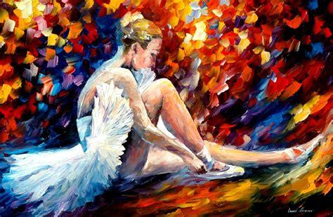imagenes artisticas reconocidas ballet through leonid afremov s strokes 4ever21christina