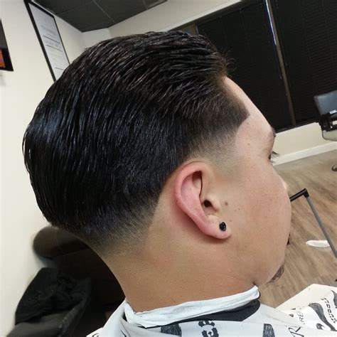 hair tapers at the back slick back taper yelp