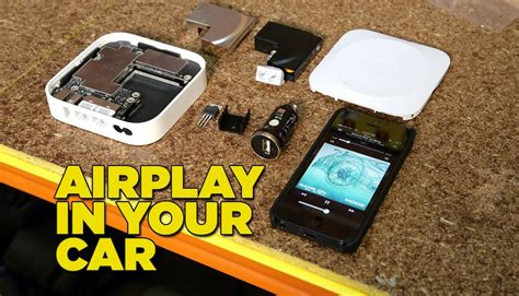 how to install tv in car install airplay in your car youtube