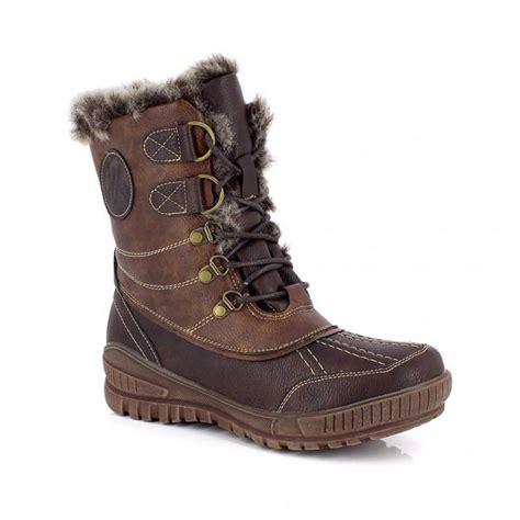 after ski boots boot after ski delmos kimberfeel brown alpinstore