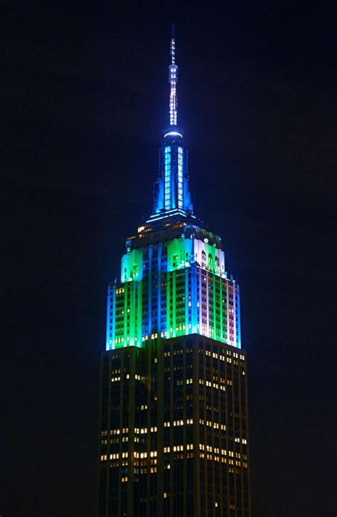 hawks colors hawks colors on empire state building seattle seahawks