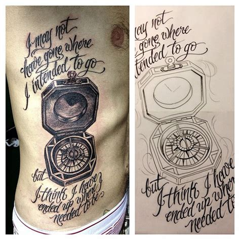 compass tattoo lettering today s tattoo and sketch melszeto compass lettering