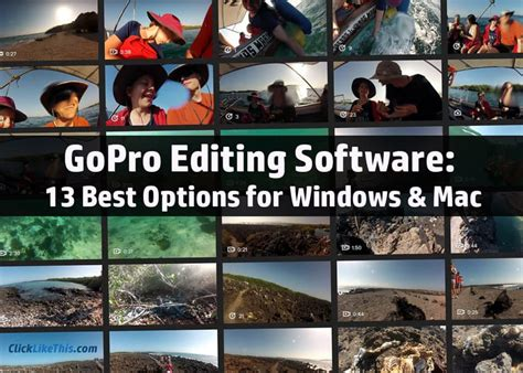 best software for editing gopro gopro editing software 13 best options for windows and