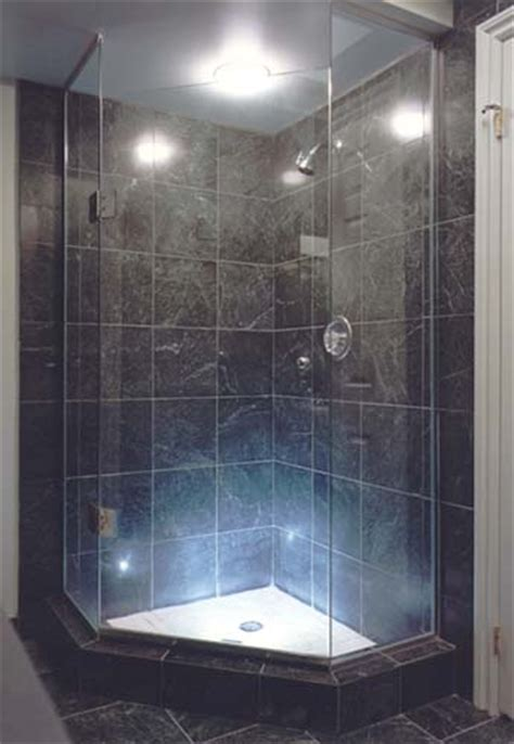 Angled Glass Shower Doors Frameless Neo Angled Shower Enclosures Glass To Ceiling Artistcraft