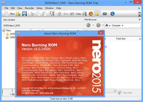 nero dvd burner free download full version windows 8 nero burning rom free download full version for windows