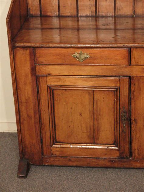 antique pine dresser with plate rack at 1stdibs