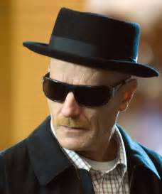 To appear as heisenberg you take the above costume and change it a