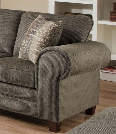 graphite fabric sofa loveseat set w optional ottoman chair