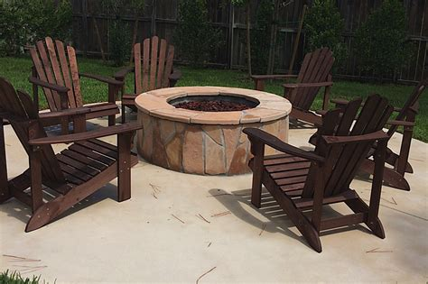 firepit chairs pits ultimate pools