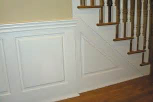 Stairway Wainscoting Custom Raised Panel Staircase Wainscoting Pictures