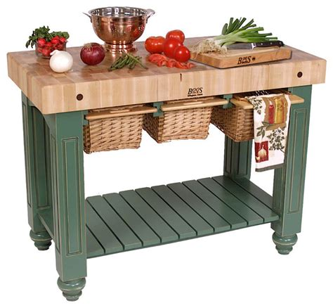 kitchen island butcher block table boos gathering block iii 48x24 butcher block table