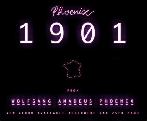 1901 by phoenix new single from phoenix 1901 the fox is black
