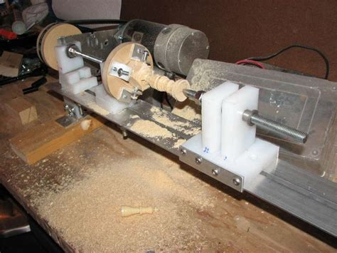 Handmade Lathe - 14 best images about wood lathe diy on