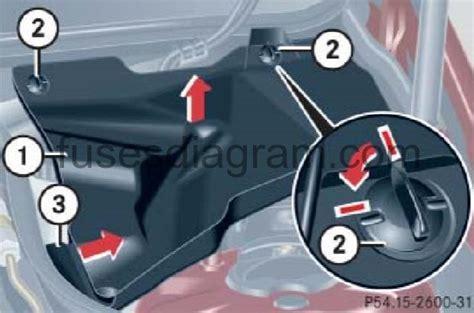 2003 Mercedes C230 Kompressor Fuse Diagram