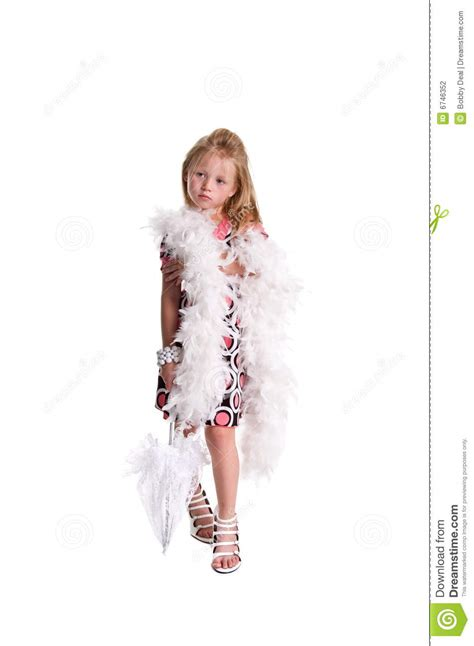 preteen girl with white feathers stock image image of little girl feathers and lace stock photography image