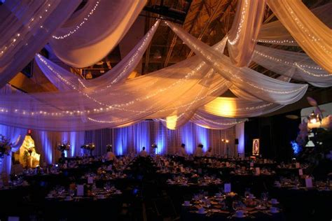 draping tulle tulle draping christmas event 2013 pinterest