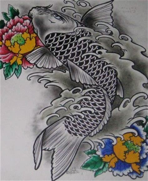 tattoo koi fish meaning s19opu koi fish dragon tattoo meaning
